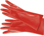Handschuhe und Knieschoner