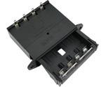 Batteriefächer für Gehäuseeinbau