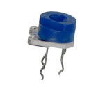 Trimmpotentiometer, liegend