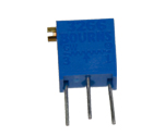 Trimmpotentiometer, stehend