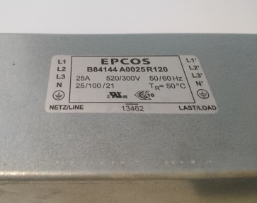 B84144A0025R120 3-phasiger Entstörfilter EPCOS