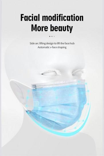 Einweg-Maske, schützt, atmungsaktiv, Gesichtsmaske