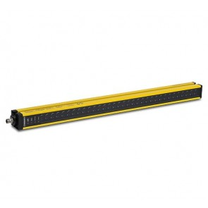 YBB-30R4-0400-G012, SAFETY LIGHT CURTAIN, RECEIVER, 30mm RES, 408mm PROTECTIVE HT, M12 Q/D