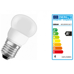 LED STAR CLAS P25 3,6W E27  FROSTED BLI