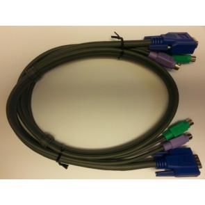 214028 KVM-Kombikabel        PS2+VGA, 1m