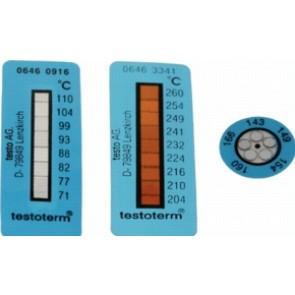 MESSSTREIFEN +116..+154°C