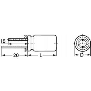 E-KS3243 100/25 6,8X12,5