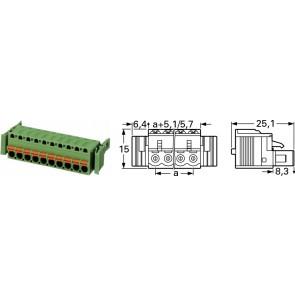 FCK 2,5/2-ST-5,08-RF