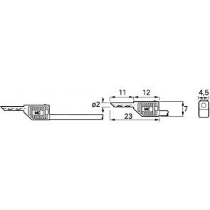 LK2-F BLAU 0,60M