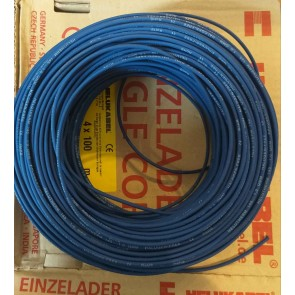Kabel 1X1² Dunkelblau Helukabel