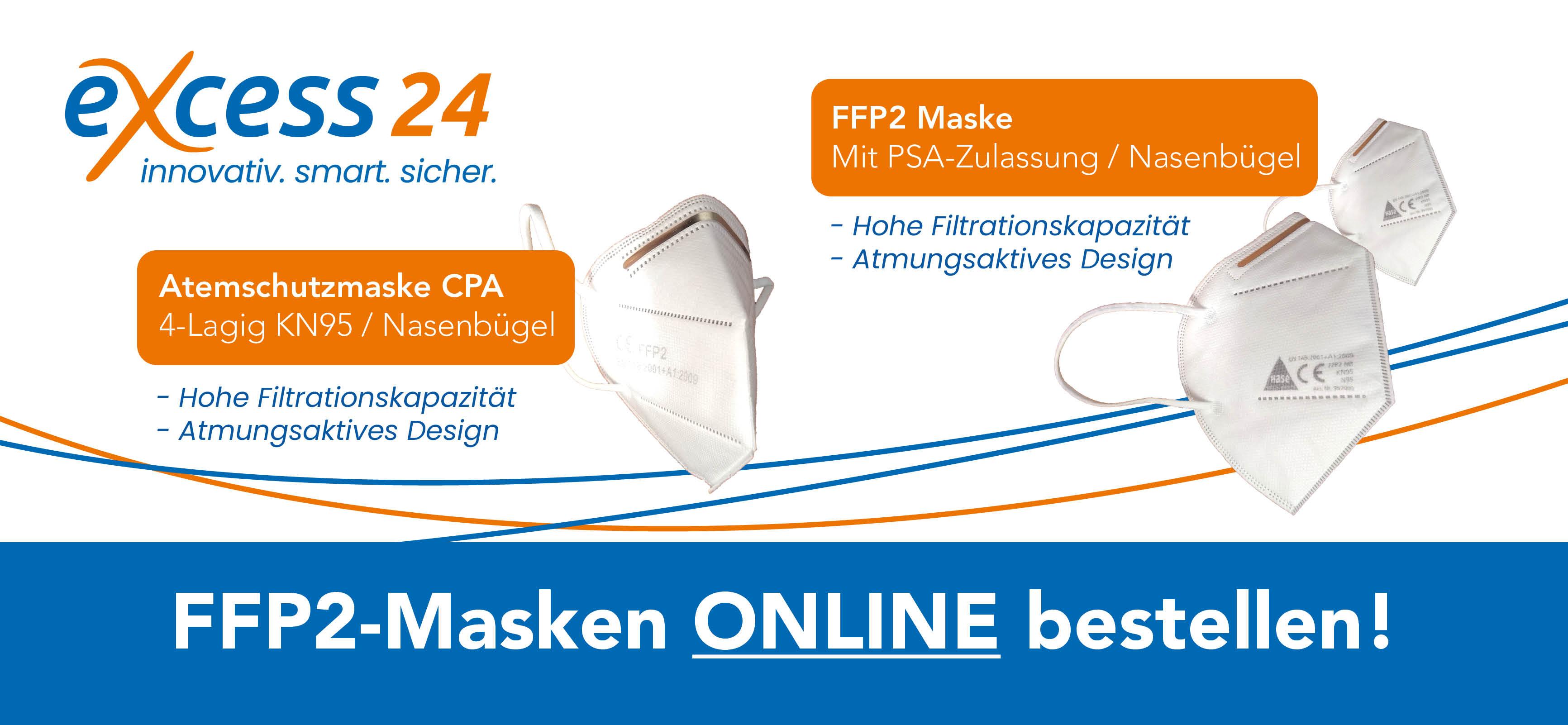 FFP2 Masken bei excess24
